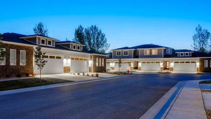 Duplex and multi family units